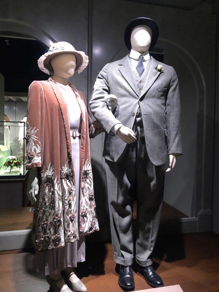 Hughes Carson Wedding outfits Downton Abbey Exhibition 7263