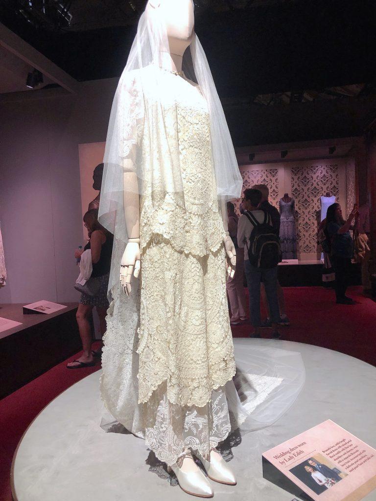 Lady Edith 2nd Wedding Dress Downton Abbey Exhibition 7258