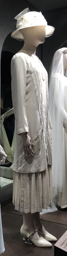Lady Mary 2nd wedding dress Downton Abbey Exhibition