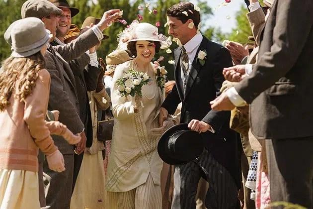 Lady Mary Crawley Talbot wedding dress