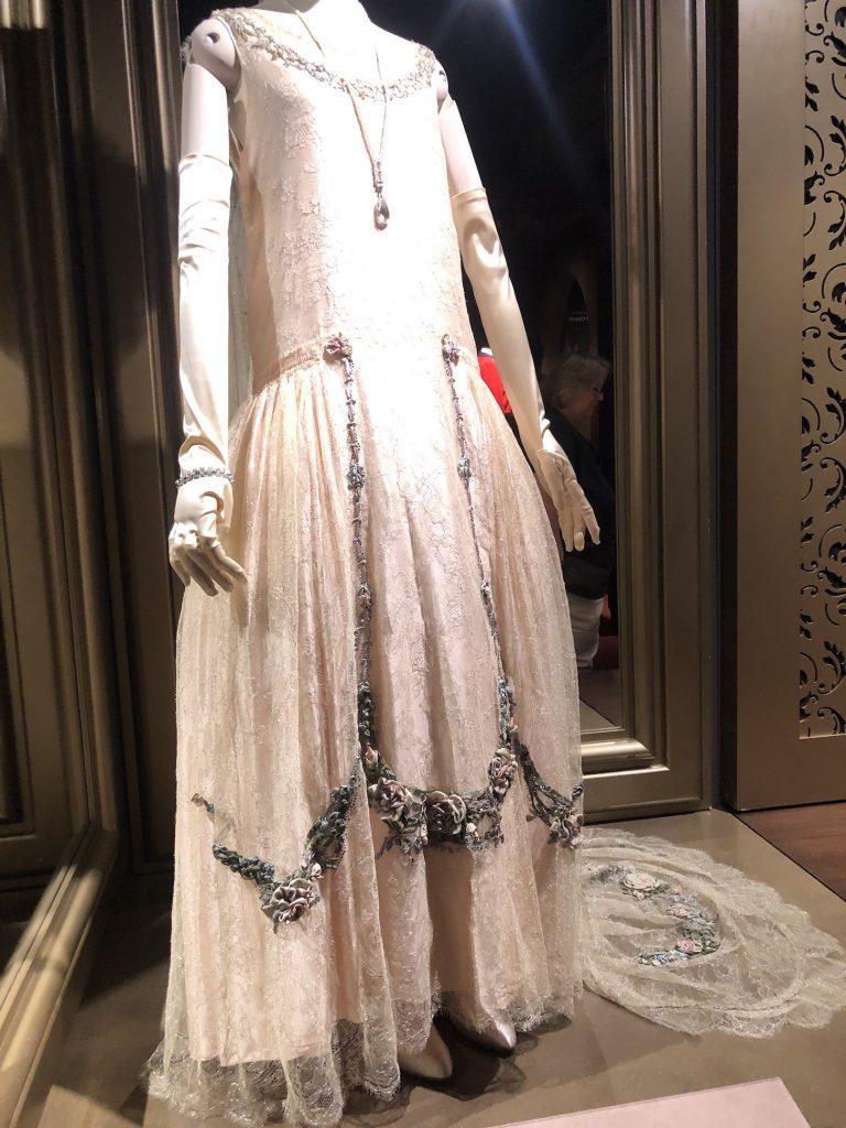 Lady Rose Presenation dress Downton Abbey Exhibition 7286