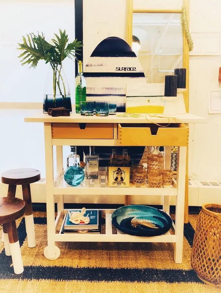 Andrea Attisani & Jessica Del Prete Bar cart design Heading Home to Dinner 2019