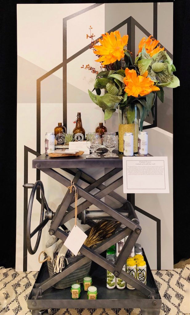 Diana Frucci Bar cart design Heading Home to Dinner 2019