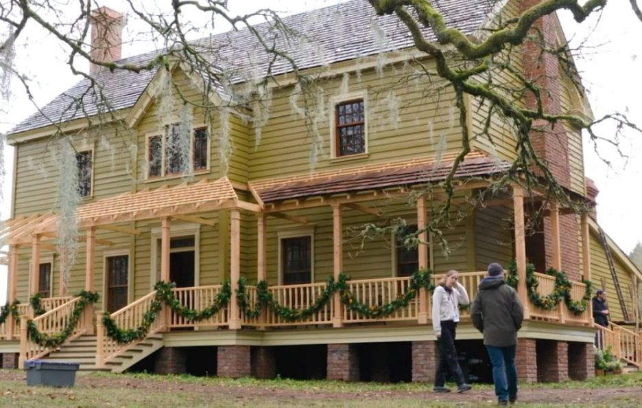 Starz Outlander The Ridge Big House exterior production Season 5
