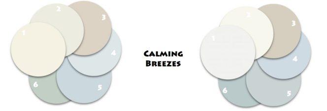 Calming Breezes Classic Coastal Colors