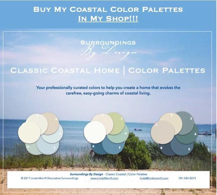 Classic Coastal Colors Beach house style
