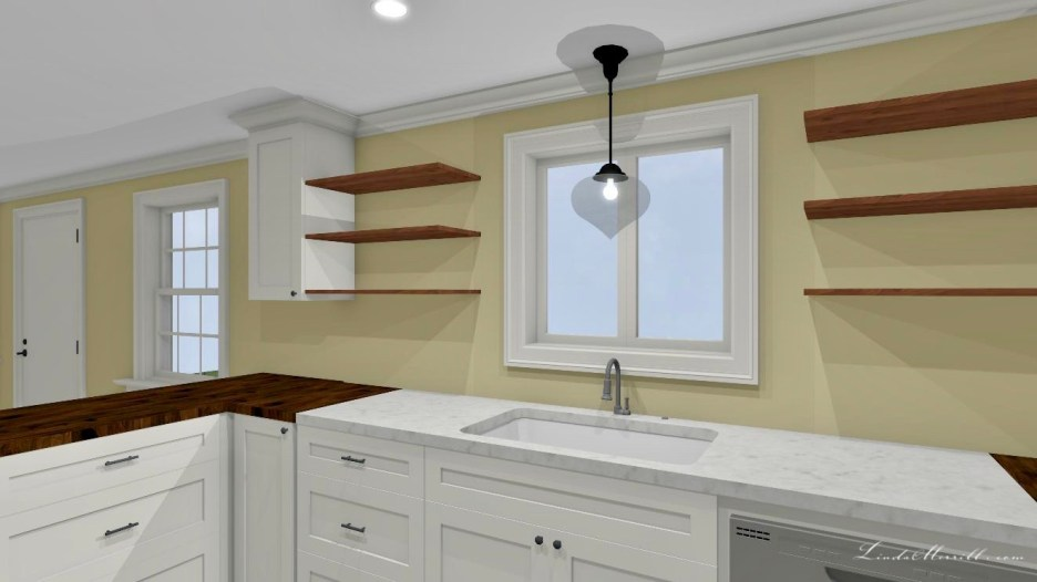 Linda Merrill Small Kitchen 4