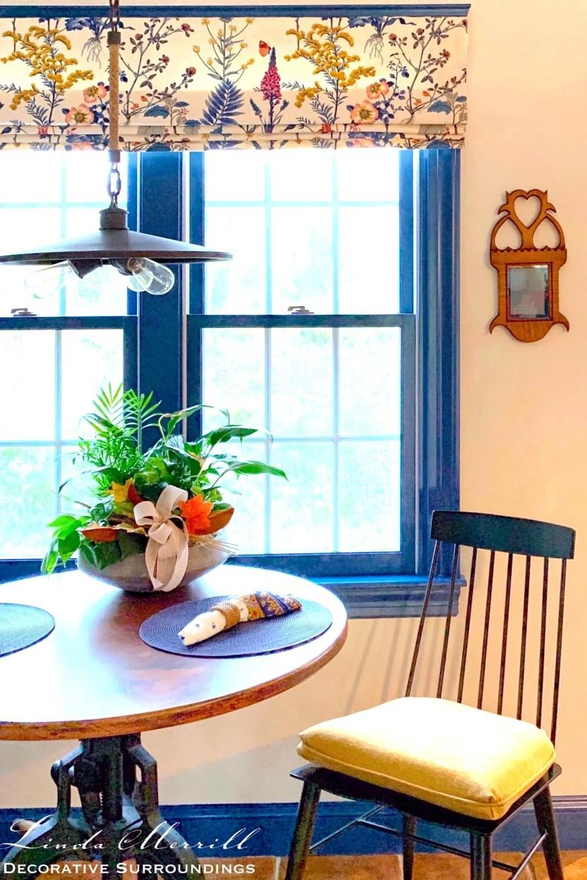 Linda Merrill Decorative Surroundings Colorful Cape Cod Dining Area