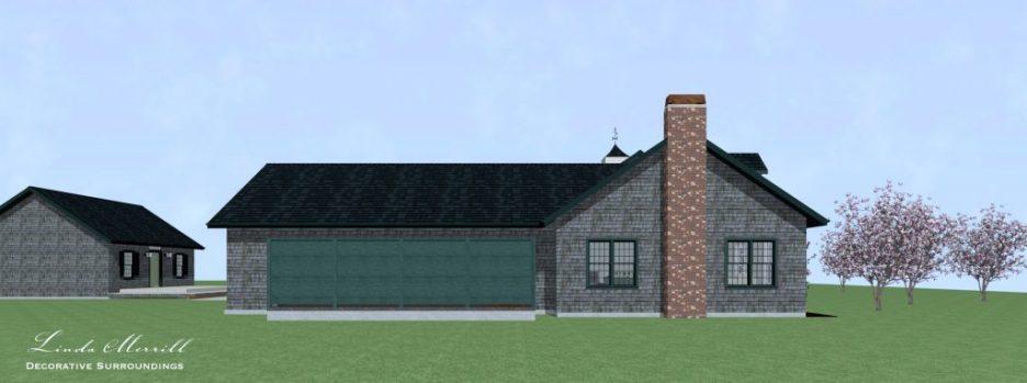 Linda Merrill Dream Home 2021 Left Exterior
