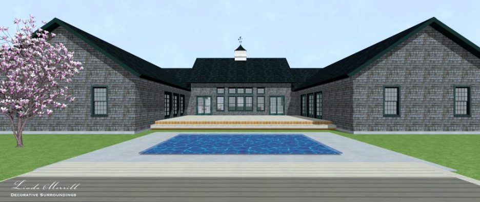 Linda Merrill Dream Home 2021 Rear Exterior