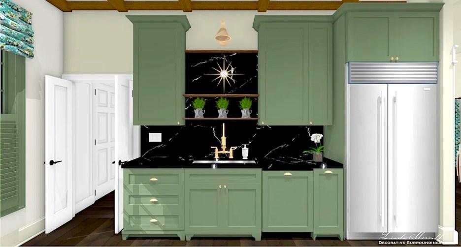 081021 LMDS Dream Home 2021 Dream Kitchen sink wall