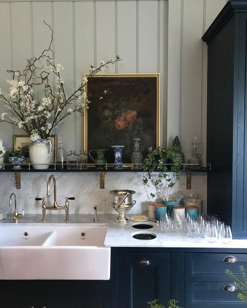 Gleneagles Resort kitchen photo by Willow Crosley Creates soulful kitchens