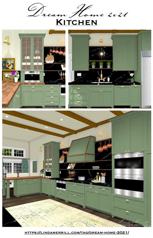 Linda Merrill Dream Home 2021 Kitchen Pin