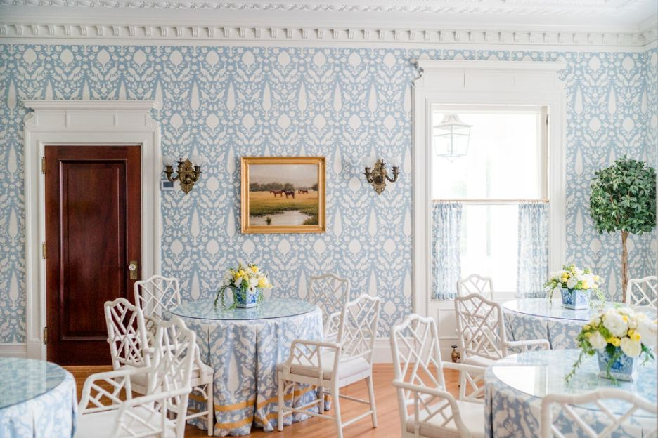 Photo by Rodeo and Co Burklynn Hall renovation breakfast room
