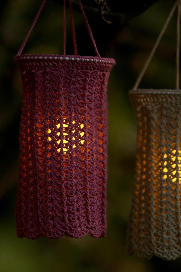 Summer Lace Lantern Gratis Haakpatroon - Linda Modderman Design