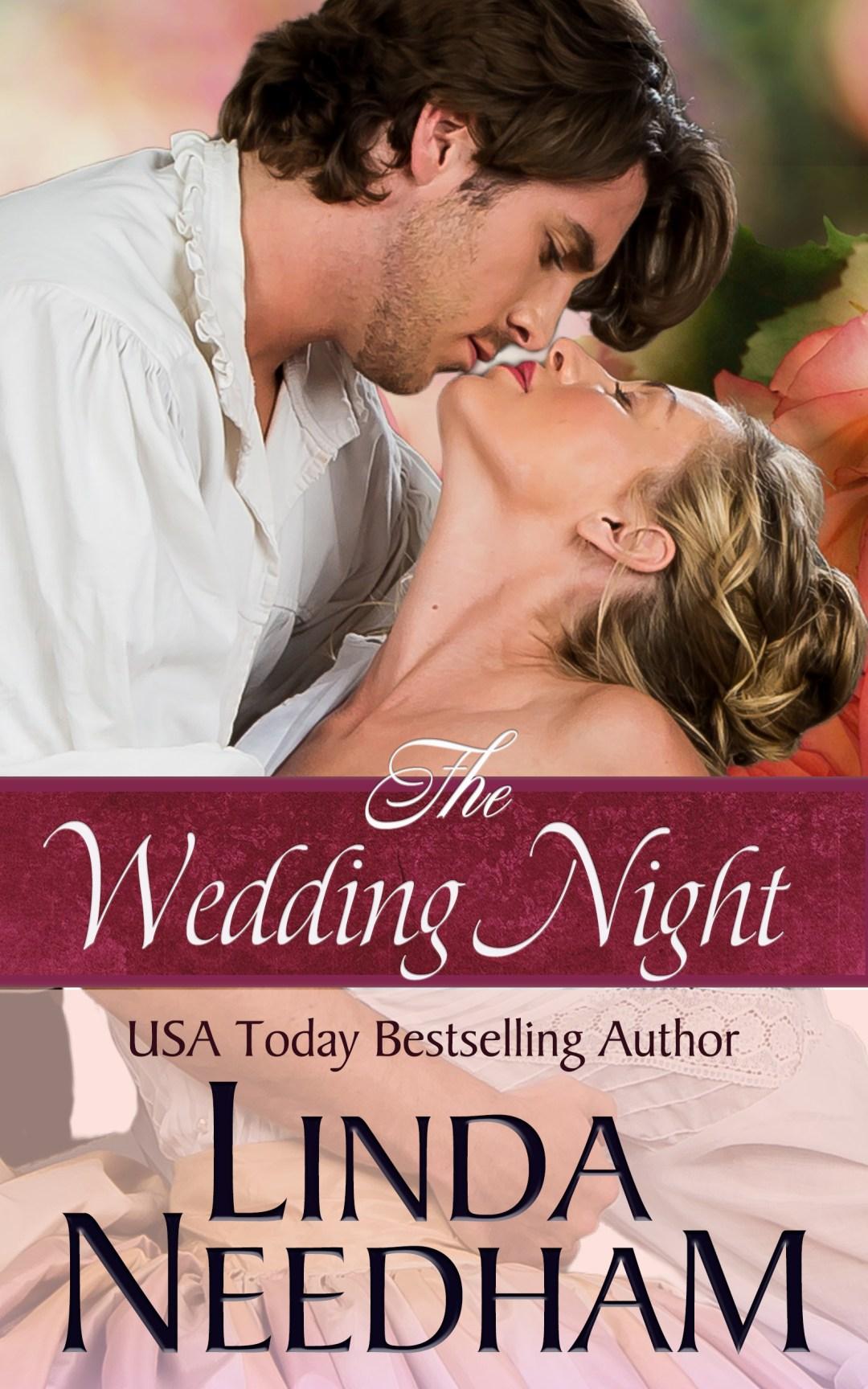Book Cover -- The Wedding Night by Linda Needham