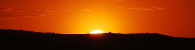 Opgaande zon, foto van Vinit Pathak, unsplashfotoś