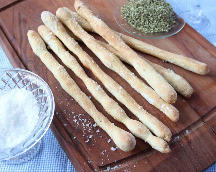 Läckra pinnar med en härlig smak av oregano.