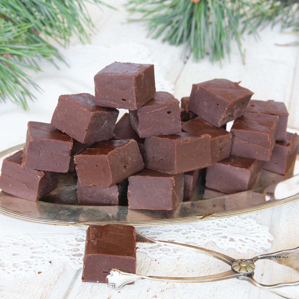 5 minuters chokladfudge med 3 ingredienser Lindas Bakskola