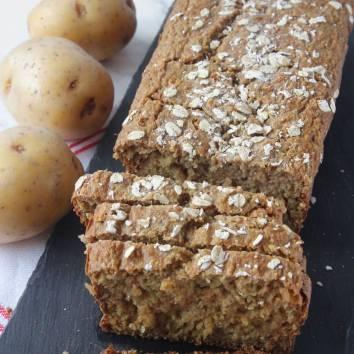 Nyttig, supersaftig och god potatislimpa utan vetemjöl (behöver inte jäsa). Klicka på bilden för recept!