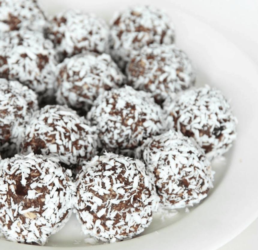 chokladbollar utan kokos