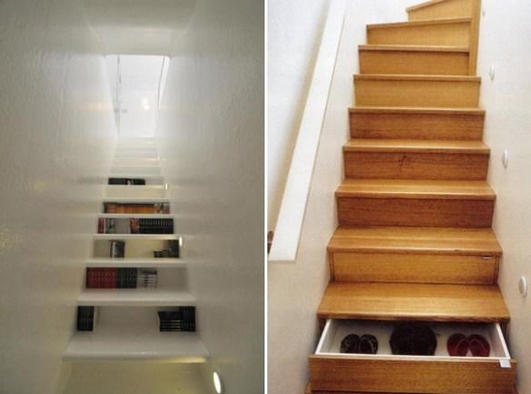 skuffer i trappen