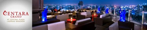 Centara Grand Hotel takterasse bar
