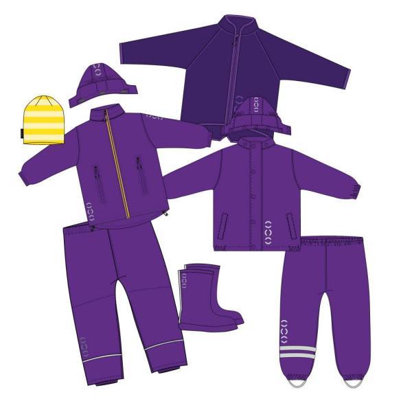 barnehageklær vårpakke jente 4-8 år