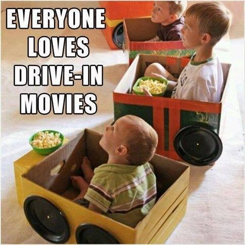 tips til drive inn kino barn