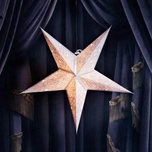 håndlagde papirstjerner whitney