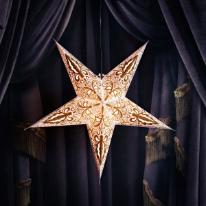 snowhite papirstjerne