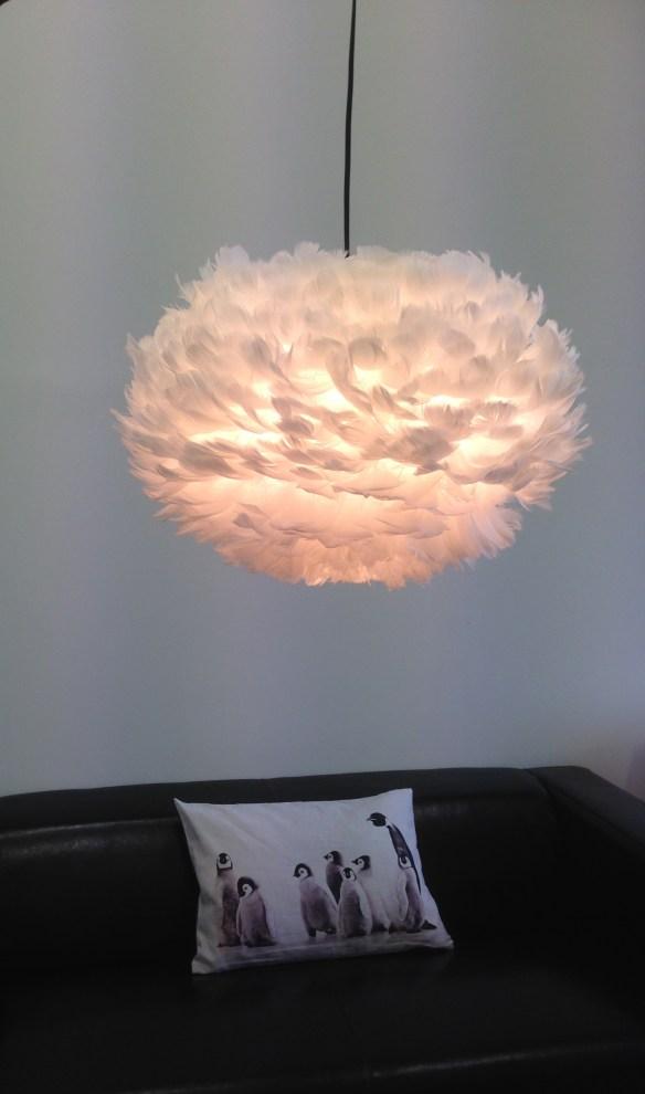 VITA Eos Fjærlampe Cozyliving pyntepute woweffekt