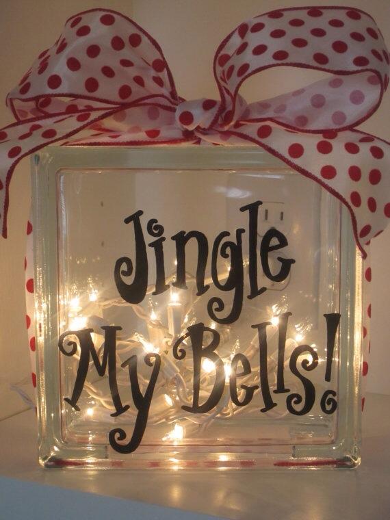 Glassbyggestein Jingle My Bells