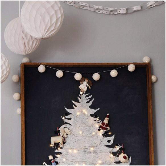 cottonlights og honeycombs julebilde