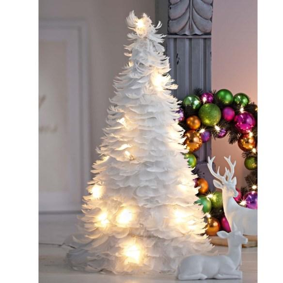 juletre fjær