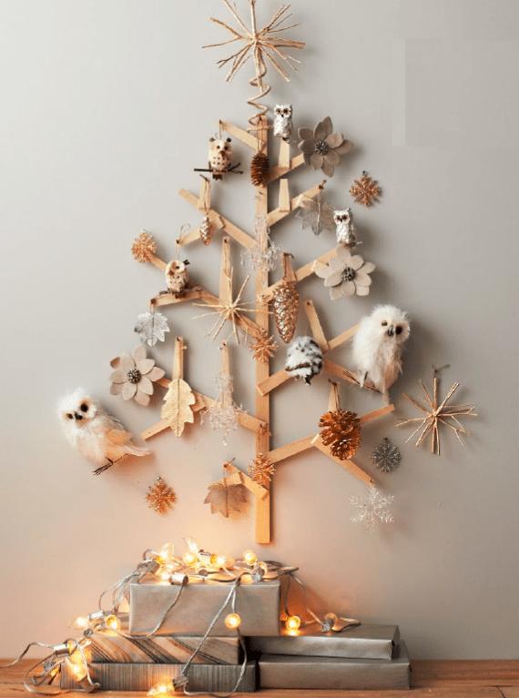juletre med ugle