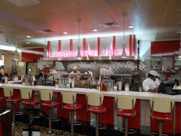 Johnny Rockets Hamburger
