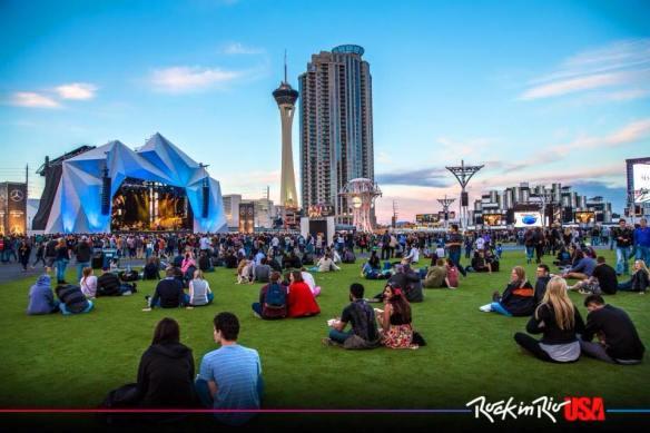 Las Vegas Rock in Rio konsertområde
