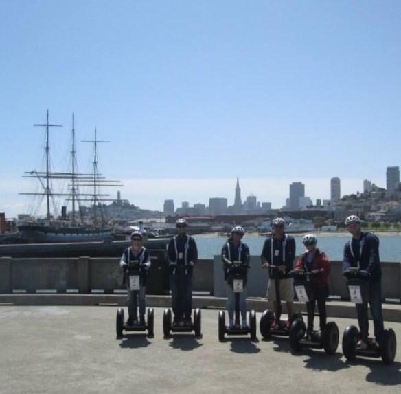 Segway gruppen San Francisco