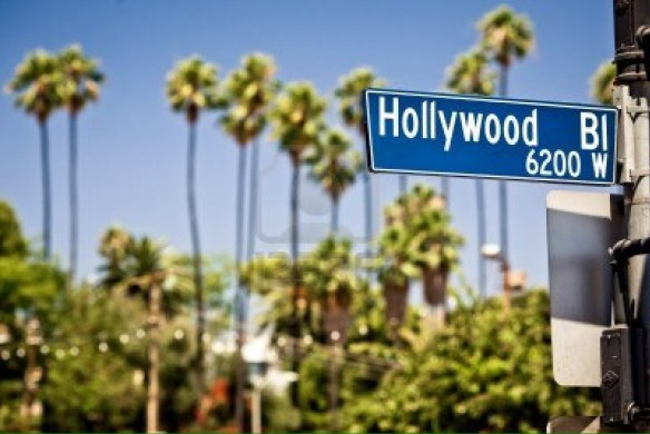 Skilt Hollywood Bl