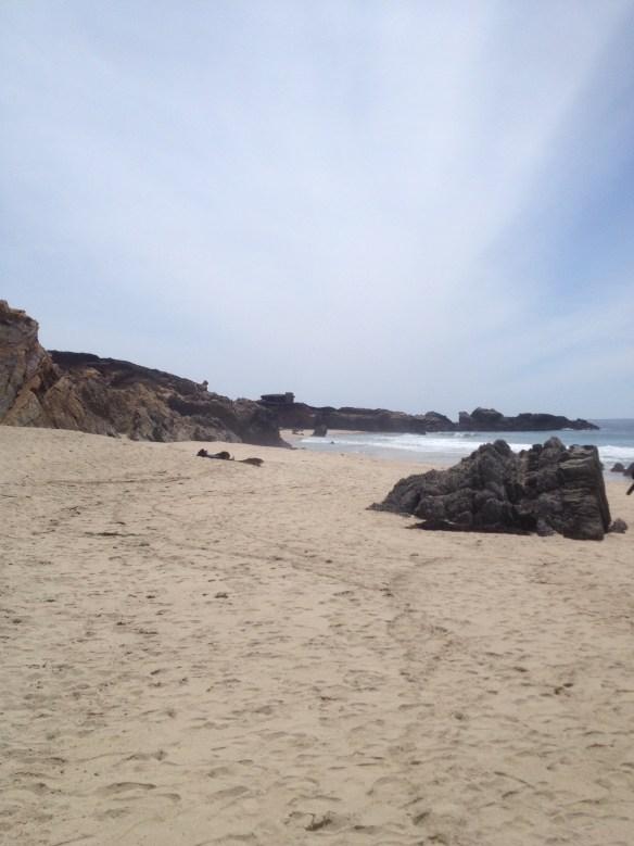 Strand på vei til LA