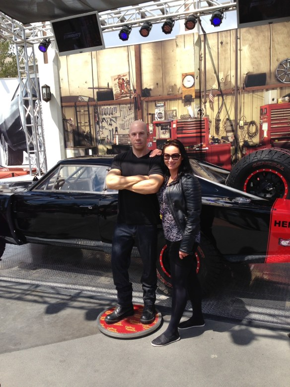 Universal Studio Vin Diesel