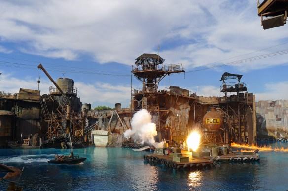 Universal Studios Waterworld show
