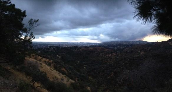 Utsikt fra Griffit Observatory 4