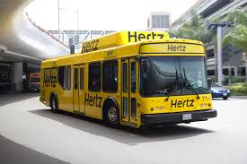 hertz shuttle bus