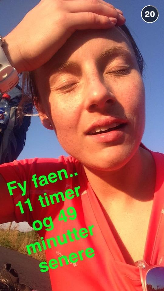 Jeanette etter Askøy på langs