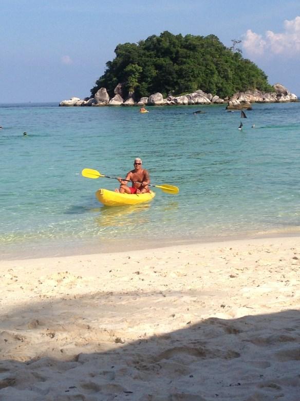 Geir kajakk Sunrise Beach Koh Lipe