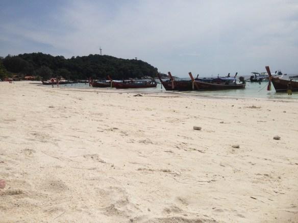 Koh Lipe Pattaya Beach longtail båter