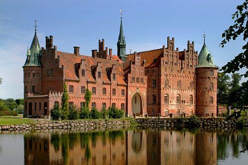 egeskov slott odense danmark