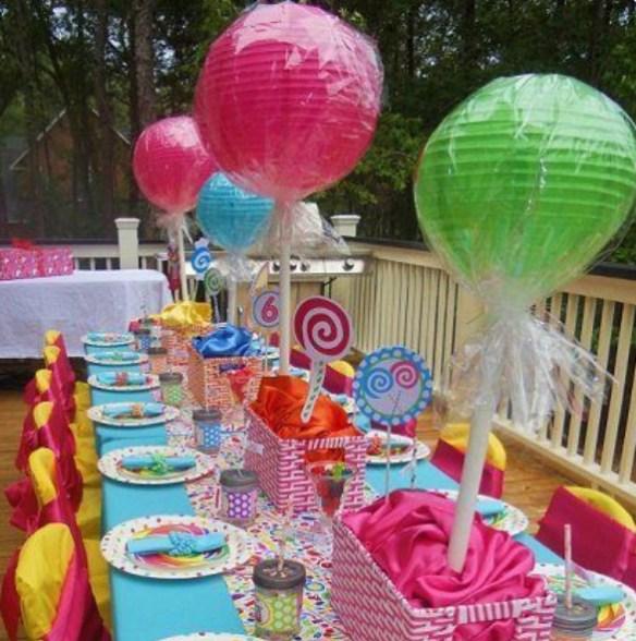 papirlanterner til barneselskap lollipops